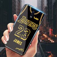 oppor17手机壳男詹姆斯球衣湖人23号oppor17pro玻璃套球星新款r17plus欧美nba