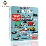 英文原版绘本 Little Explorers On The Move 小探险家在行动纸板书 儿童科普读物 少儿百科