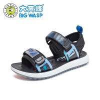 【1件5折�r:125元】大�S蜂�和��鲂� 男童夏季�底鞋子2020新款中小童�r尚�n版沙�┬�