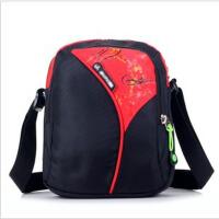单肩包男士休闲运动背包竖款斜挎包女包斜跨小包包男包 红色