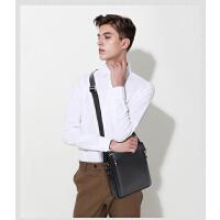时尚男士真皮斜挎包休闲男士包包韩版头层牛皮背包商务包潮