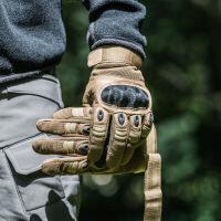 军迷特种兵黑鹰战术手套男全指防割格斗防身511作战手套07a内手套