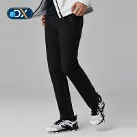 【到手价:139元】Discovery户外秋冬新款男式防泼水弹力休闲旅行软壳裤子DAMG91331
