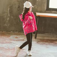 女童加绒冲锋衣2018秋冬装新款儿童可拆卸三合一外套女宝宝洋气潮