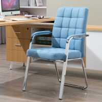 电脑椅家用舒适久坐靠背椅学生宿舍座椅会议室麻将椅简约办公椅子