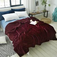 毛毯珊瑚绒被子双层午睡盖毯秋冬季加厚羊羔绒保暖单人宿舍小毯子