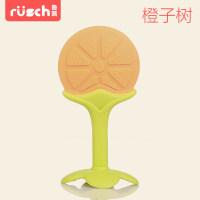 婴儿牙胶宝宝磨牙棒新生儿磨牙训练器水果蔬菜乐咬咬胶玩具a453