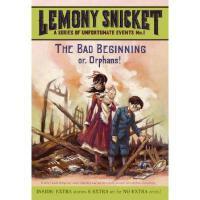 The Bad Beginning 英文原版 雷蒙斯尼奇的不幸历险1:悲惨的开始