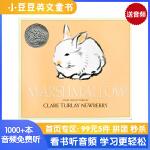 英文原版 Marshmallow 小兔子棉花糖兔子(凯迪克银奖)[4-8岁]