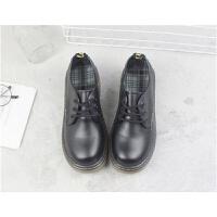 棉鞋女学生韩版日系复古圆头娃娃鞋平底学院风英伦小皮鞋软妹单鞋