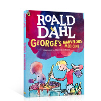 全店满300减100】英文原版 George's Marvelous Medicine 小乔治的神奇魔药 罗尔德达尔 R