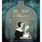 英文原版 玛丽・雪莱与弗兰肯斯坦 Felicita Sala插画绘本 精装 She Made a Monster: H