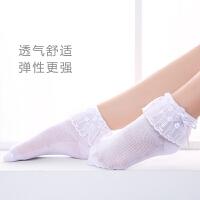 儿童拉丁规定袜 白色蕾丝花边袜 摩登舞比赛袜子表演考级舞蹈短袜
