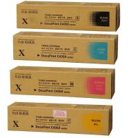原装正品 Fuji Xerox富士施乐 DocuPrint C4350粉盒硒鼓 CT200899黑色 CT200900
