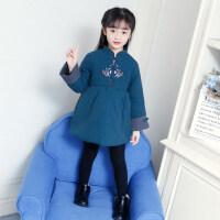 拜年服宝宝女宝宝唐装冬装儿童过年衣服女童旗袍喜庆新年装中国风