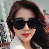 新款米钉时尚圆框太阳镜 5071彩膜女士墨镜 男士驾驶镜太阳眼镜