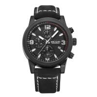 2018新款 美格尔男士腕表 男表三眼夜光防水运动手表