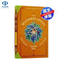 预售 科比遗作巫兹纳德系列 第 1季 收藏版 绒皮封面英文原版科比新书青少年小说Wizenard Series:Sea