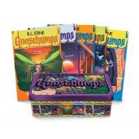 Goosebumps 25th Anniversary Retro Set 英文原版 鸡皮疙瘩25周年套装 5本经典故