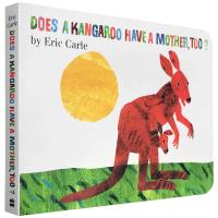 儿童英文原版绘本 Does a Kangaroo Have a Mother, Too? 袋鼠也有妈妈吗?纸板书 Er