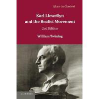 【预订】Karl Llewellyn and the Realist Movement