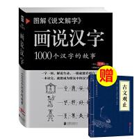 图解《说文解字》画说汉字1000个汉字的故事 许慎著 汉字的演变过程 精辟图说展示汉字在的使用状况语
