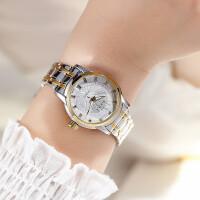 时尚女表全自动机械表女士手表防水钢带情侣时装表皮带表