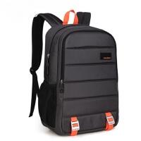 韩版女校园潮高中学生书包男士背包 男款休闲商务电脑包旅行大容量背包