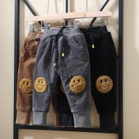 宝宝裤子秋冬加厚婴儿童棉裤2一3岁男童加绒裤子外穿4冬季5灯芯绒