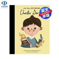 英文原版 小男孩,大梦想:达尔文 名人传记 Charles Darwin Little People, BIG DREA
