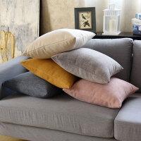 北�W��s抱枕客�d沙�l靠�|套加厚�k公室腰枕靠背枕�^靠背�|不含芯