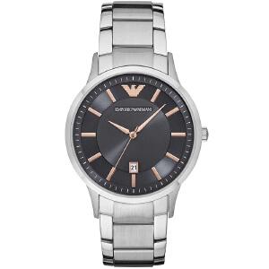 阿玛尼(EmporioArmani)手表钢制表带经典时尚休闲石英男士时尚腕表AR2514
