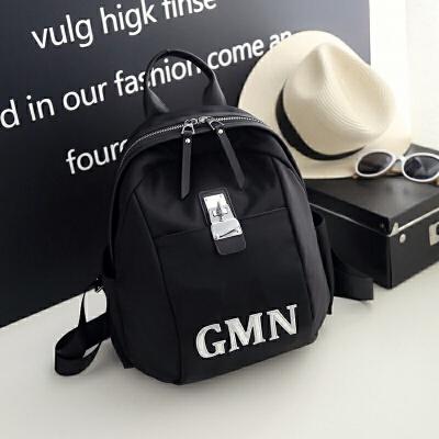 儿童背包男童旅行双肩包小学生休闲运动包潮韩男孩子轻便户外旅游 黑色 现货