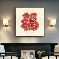 新款福字钻石画简约小幅卧室钻石十字绣餐厅满钻客厅粘钻绣砖石画