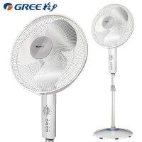 格力(Gree)FD-4012a-WG 电风扇 落地扇家用 立式静音电扇机械式摇头立式升降转页风扇