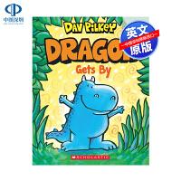 英文原版 Dragon Gets By小恐龙的收获 学乐大树姐妹篇橡树系列 An Acorn 儿童全彩桥梁章节书 Dog