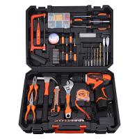 家用工具箱套装多功能水电工木工维修工具电钻组合