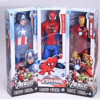 蜘蛛侠模型钢铁侠美国队长人偶绿巨人漫威公仔玩具