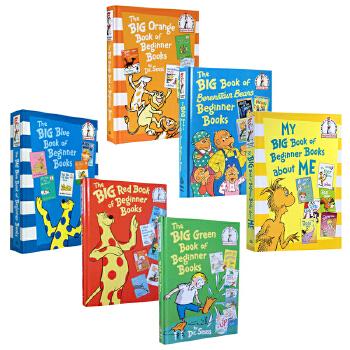 【顺丰包邮】英文原版 I Can Read Beginner Books 贝贝熊系列6册36个故事合集 精装大开本 3-6岁低幼儿童启蒙阅读绘本