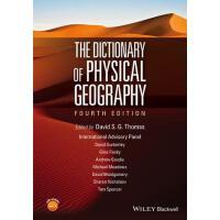 【预订】The Dictionary of Physical Geography, 4E 9781118782330