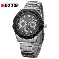CURREN卡瑞恩8150商务男士手表 时尚个性赛车仪表盘设计商务腕表