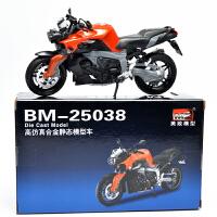 MZ/美致 宝马K1300R 1:12静态车模儿童玩具摩托车汽车摆件模型 红色