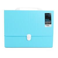 康百F9047 A4风琴包 文件夹 多层学生用 试卷夹 文件袋 办公资料夹卷子收纳袋