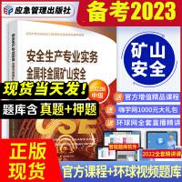 备考2021 注册安全工程师2020 安全生产专业实务金属非金属矿山实务教材 注安师 注册安全工程师2020教材 中级注