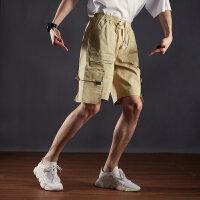 【1件2.5折到手价:61.3】美特斯邦威工装短裤男宽松新款夏季轻薄休闲帅气搭配中裤运动裤男