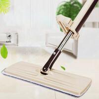 【加大加宽版】免手洗平板拖把家用懒人大地拖尘推旋转木地板磁砖拖布拖把