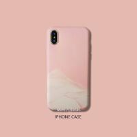 牧野苹果手机壳女iPhone6s/7/8plus/X/XS Max/XR粉色硅胶软壳 iPhone6/6S 软壳-粉色