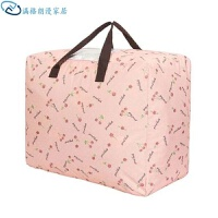 创意家居大容量手提收纳袋幼儿园装被子的袋子收纳袋儿童衣服棉被整理袋牛津布旅行行李打包袋 ++特(三件套)