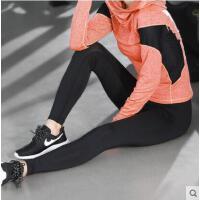 新款速干健身裤弹力紧身运动裤女运动瑜伽服休闲薄款打底裤长裤