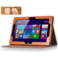 海尔 W1048S皮套 w1048s保护套 Haier w1048s Win8平板电脑10寸套 时尚印花系列:橙色。收